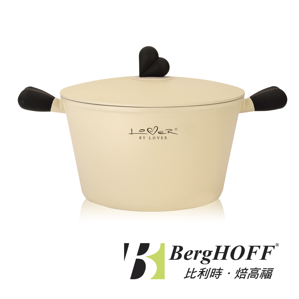 【BergHOFF焙高福】愛戀系列-雙耳鑄鐵湯鍋24cm(3.2L)