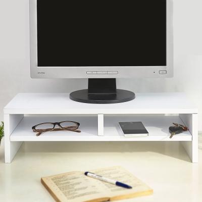 澄境 環保低甲醛雙層桌上螢幕置物架2入組-DIY