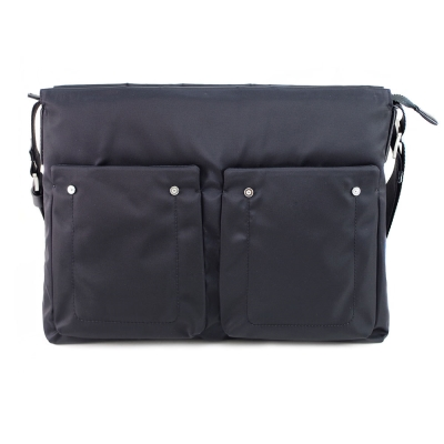 【Sina Cova】老船長橫式側背包-休閒黑(EB125403)