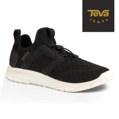 【TEVA】原廠貨 女 Arrowood Swift Lace 輕量休閒鞋/健走鞋(黑-TV1018313BWHT)