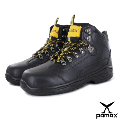 PAMAX【帕瑪斯高抓地力安全鞋】P00301H-PU氣墊、戶外休閒