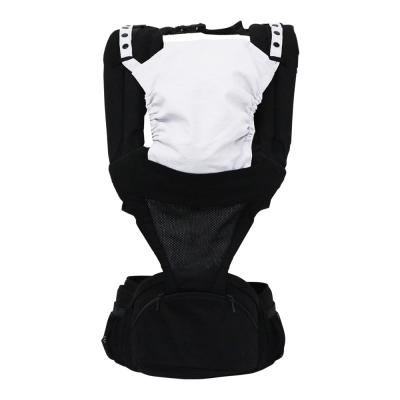 日本西村媽媽 Lucky POLBAN腰凳背帶 (黑色)