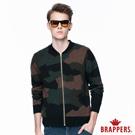 BRAPPERS 男款 男用迷彩毛衣外套-軍綠