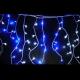 聖誕燈裝飾燈LED燈100燈冰條燈(藍白光)(附控制器跳機) product thumbnail 1