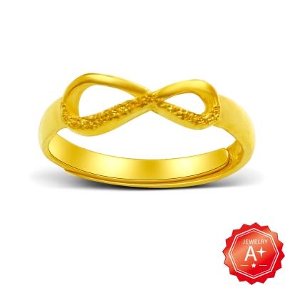 A+ 無限 黃金女戒 (活動戒圍)