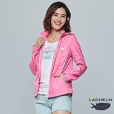 【LACHELN】COOLMAX女拼接防曬外套(L81W502)