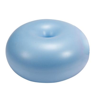 丹尼士 甜甜圈瑜珈坐墊球-粉藍(台灣製)