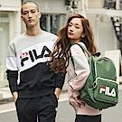 FILA #東京企劃 長袖圓領T恤-黑1TES-1400-BK