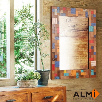ALMI-SYZ RECYCLED- MOZAIC 壁鏡W90*D3*H120CM