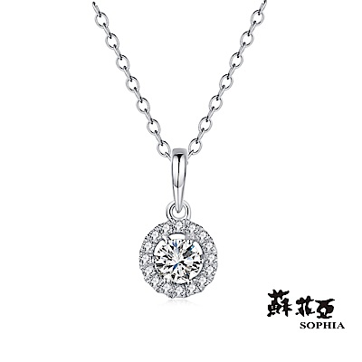 蘇菲亞SOPHIA 0.12ct 簡愛鑽石項鍊