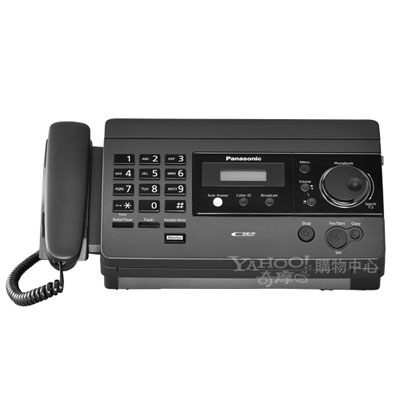 Panasonic 國際牌 感熱紙傳真機 KX-FT503 (黑/白兩色)