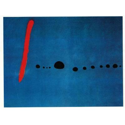 開運陶源【藍色二號】招財1兆 米羅名畫大幅