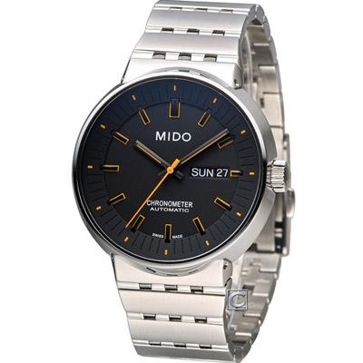 MIDO All Dial 羅馬競技系列械機腕錶-黑x橘/42mm
