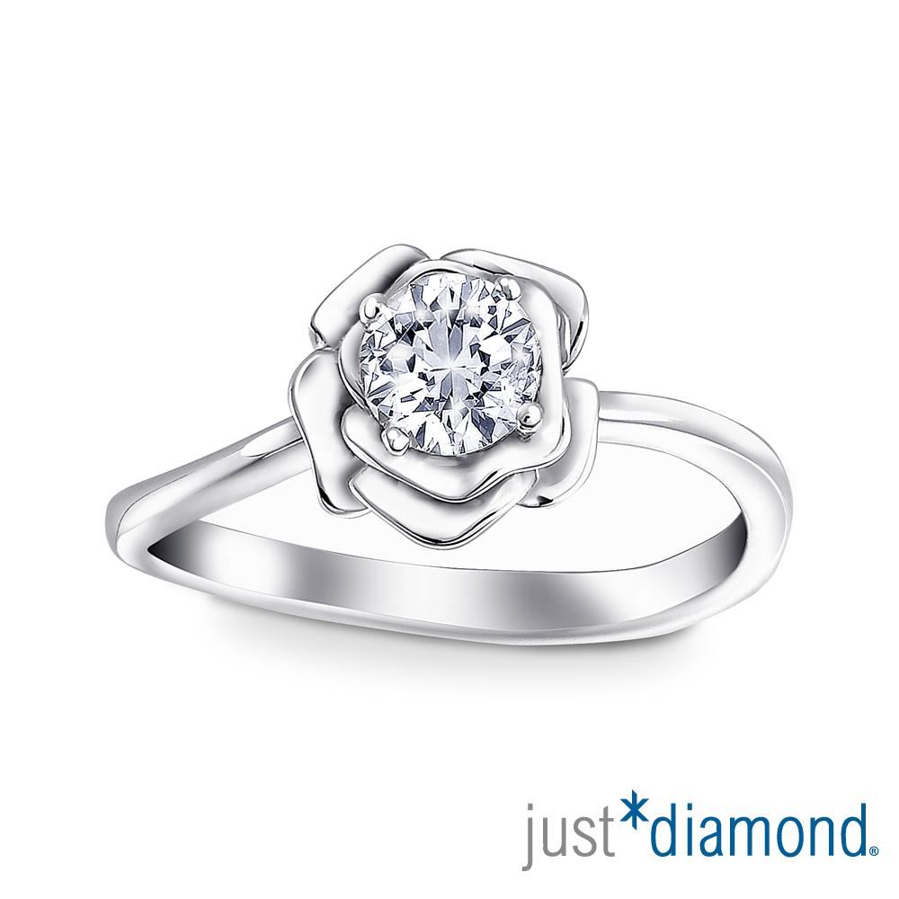 Just Diamond 戀火薔薇系列18K金鑽石戒指