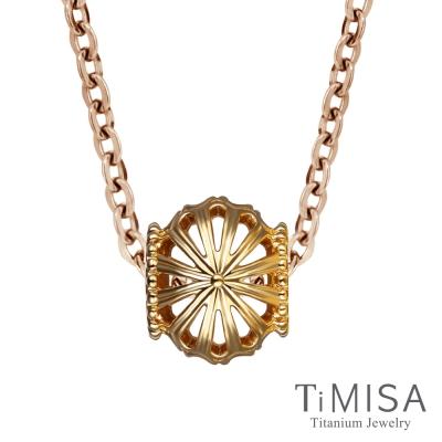 TiMISA 星漾光芒 金 純鈦項鍊(雙色可選)