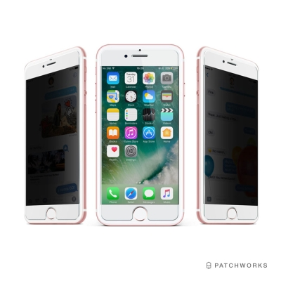 Patchworks iPhone 8/7/6s 神奇防偷窺手機玻璃保護貼(透明進階版)