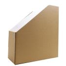 綺町 日本 厚版 牛皮  雜誌架2入-文件收納盒 文件夾 雜誌架 檔案夾