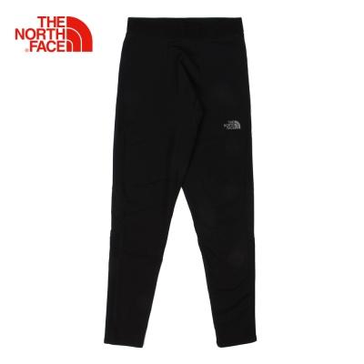 The North Face北面男款黑色舒適戶外運動緊身褲