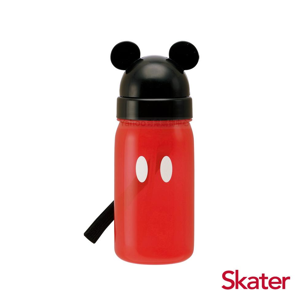 Skater造型吸管水壺(350ml)米奇