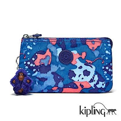 Kipling 零錢包 大麥町迷彩藍-小