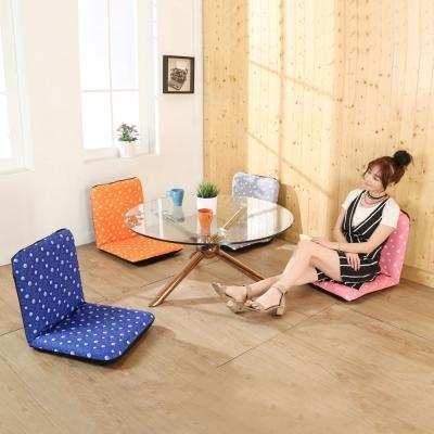 BuyJM輕巧泡泡六段調整和室椅/折疊椅(4色)45x43x42公分-免組裝