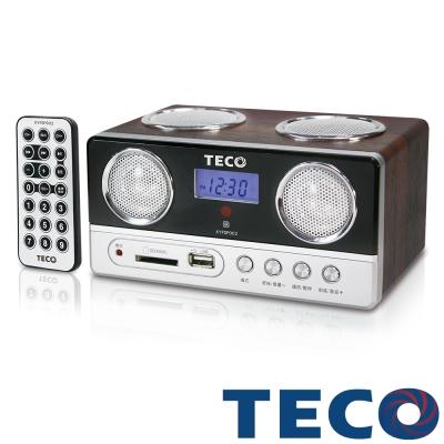 TECO東元 USB SD MP3 FM隨身音響 XYFSP002