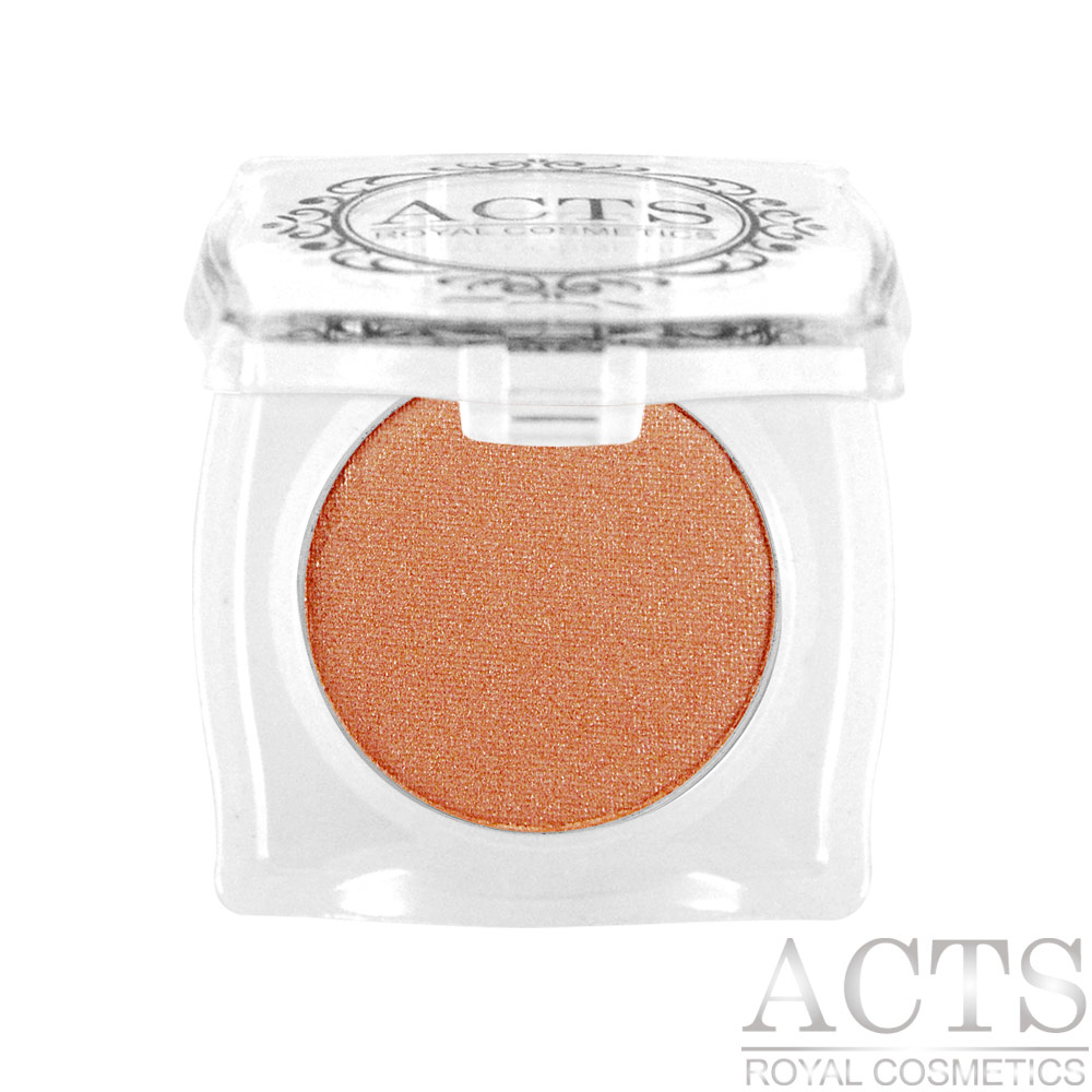 ACTS維詩彩妝 細緻珠光眼影 珠光咖啡橘7404