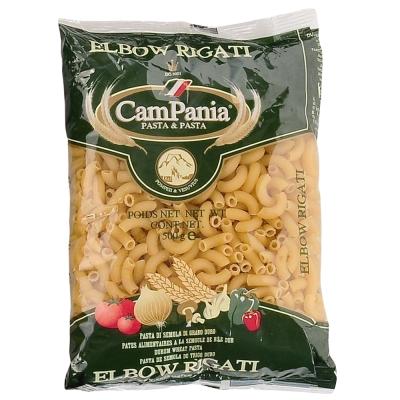 CamPania坎佩尼亞 義大利稜紋彎管麵(500g)