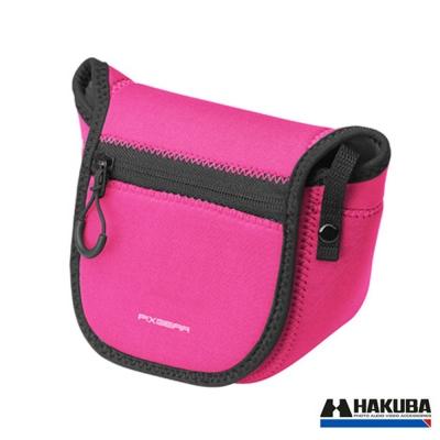 HAKUBA 微單彈性相機小包-粉紅色