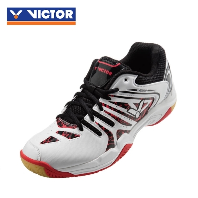 【VICTOR】勝利羽球鞋 SH-A390 AC 珠光白/黑