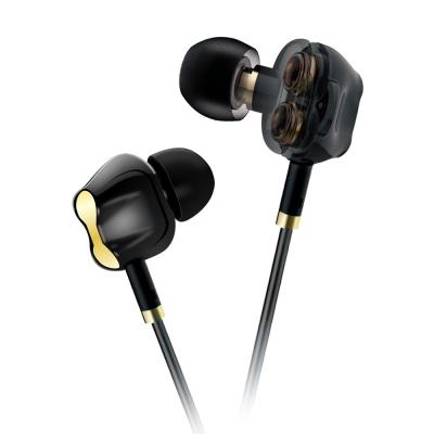 T.C.STAR 四單體專業入耳式帶麥耳機/黑色 (TCE6200BK)