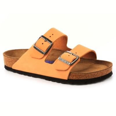 勃肯BIRKENSTOCK 057761亞利桑那 經典二條拖鞋(駝色)