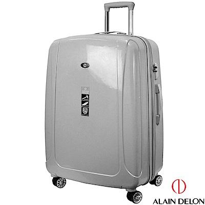 ALAIN DELON 亞蘭德倫 28吋旅者風情系列旅行箱(灰)