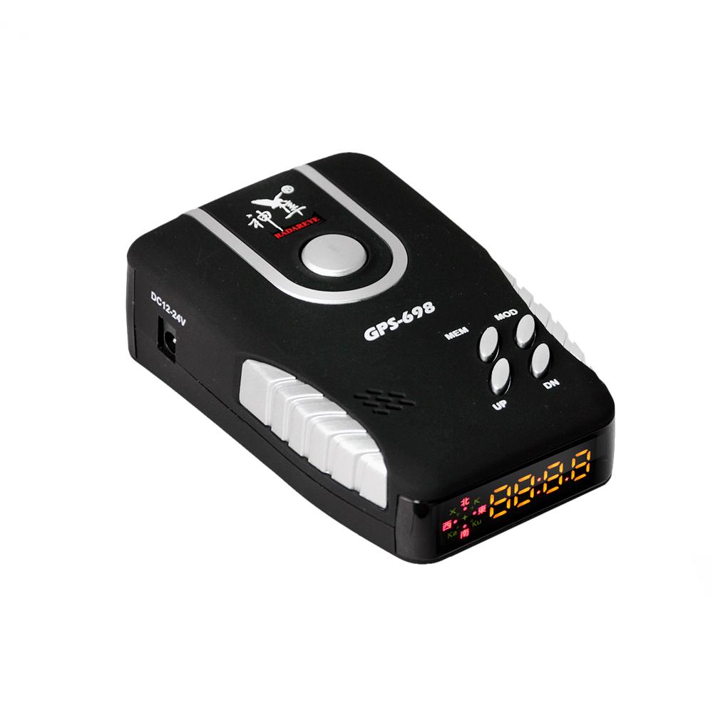 神隼 GPS-698 GPS衛星定位全頻雷達安全警示器一體機