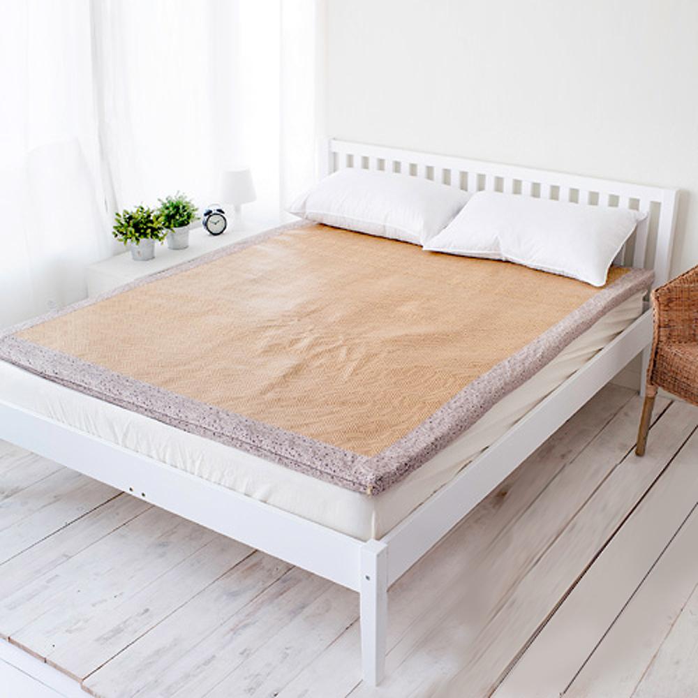 凱蕾絲帝 卡布冬夏兩用紙纖高支撐記憶床墊-單人3尺