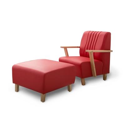 日安家居-Eliot艾瑞特MIT經典單人沙發-含腳椅-三色