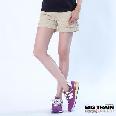 BIG TRAIN 小金魚女短褲-女-米白