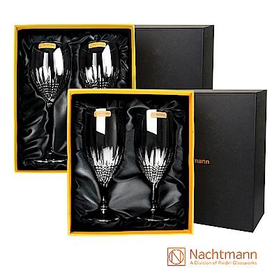 [雅虎獨家組合] Nachtmann 莊園頂級酒杯好禮成雙禮盒組