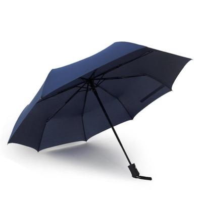 PUSH! 好聚好傘, 自動傘雨傘遮陽傘晴雨傘三摺傘I28-1藍色