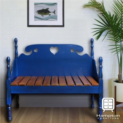 漢妮Hampton貝拉情人椅-休閒椅-戶外椅-深藍
