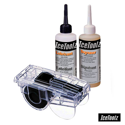 Icetoolz EASY CLEANING 三合一鏈條清潔保養組