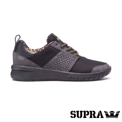 SUPRA Scissor系列女鞋-黑/豹紋