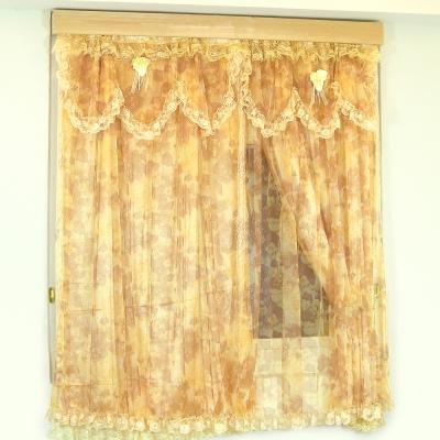 布安於室-蕾歐雅穿管式雙層窗簾