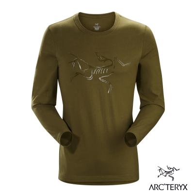 Arcteryx 始祖鳥 24系列 男 有機棉長袖T恤 松綠