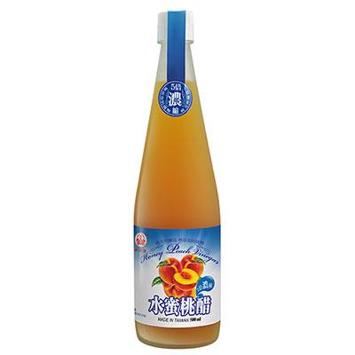 《崇德發》水蜜桃醋 (500ml)