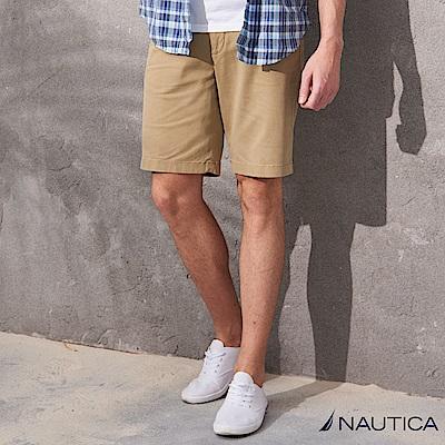 Nautica百搭休閒短褲 -卡其
