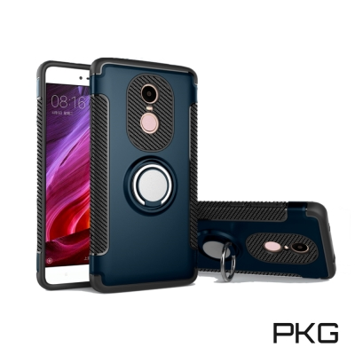 PKG  紅米Note4X 抗震指環殼-支援磁吸車架功能