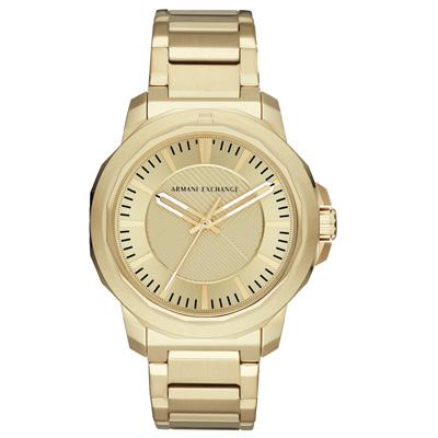Armani Exchange 城市迷宮時尚腕錶-AX1901-44mm