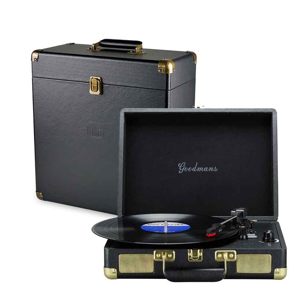 Goodmans Turntable 英國手提箱黑膠唱片機+黑膠收納箱 product image 1
