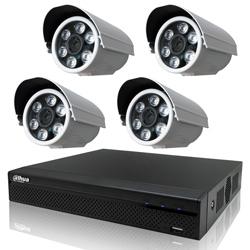 奇巧 CVI 1080P 4路數位高清監控組 含SONY 200萬監視器攝影機
